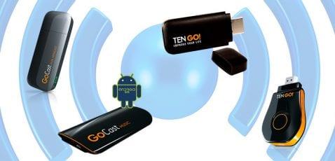 Receptores Wi-Fi TenGo