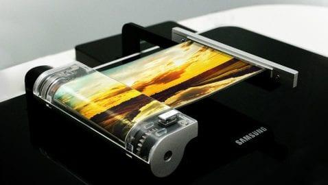 Samsung pantalla flexible