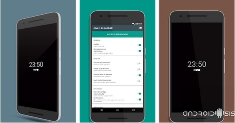 La mejor aplicación para simular Always On del Samsung Galaxy S7 y LG G5