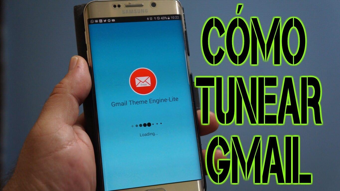 Cómo tunear por completo la aplicación original de Gmail