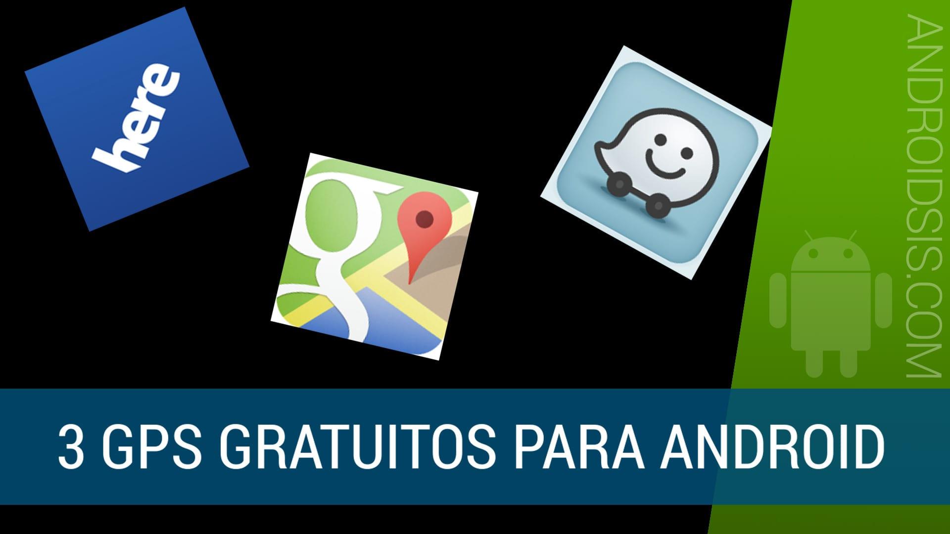 3Los 3 mejores GPS gratis para Android