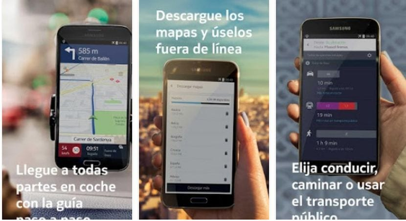 HERE Maps de Nokia