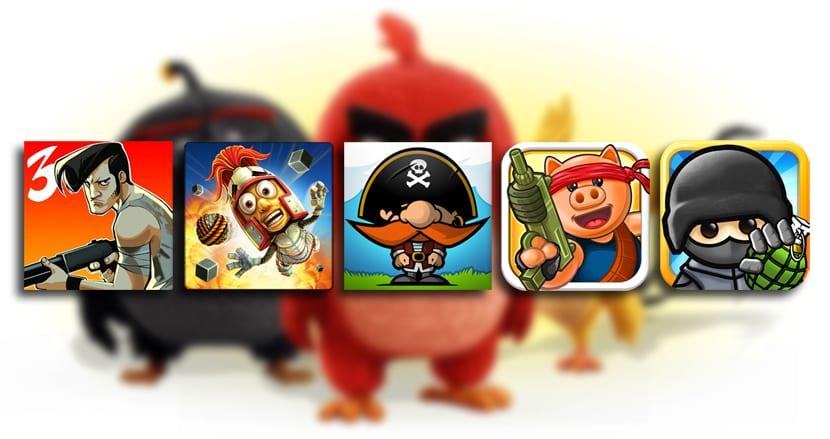 Juegos tipo Angry Birds