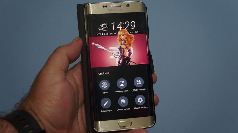 Ajustes del Launcher del HTC 10