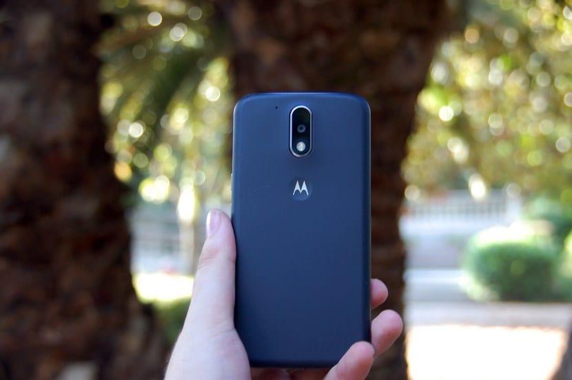 cámara Moto G4