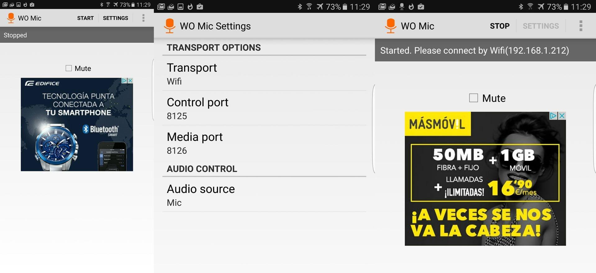 Cómo convertir tu Android en un micro inalámbrico de alta calidad