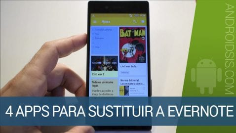 Apps sustituir Evernote