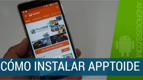 Cómo instalar Apptoide