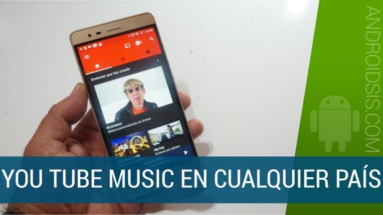 Instalar You Tube Music