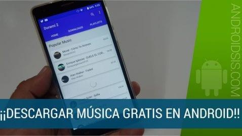 Música gratis en Android