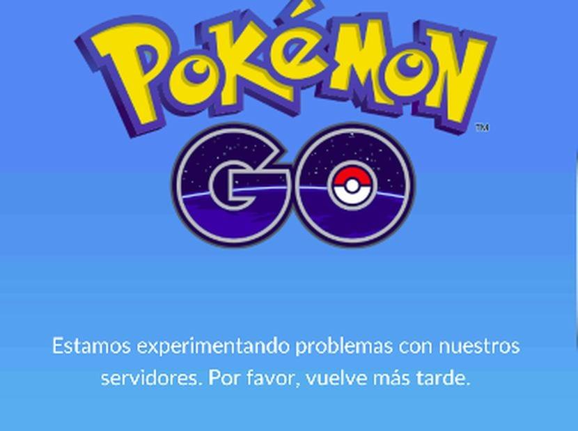 Pokemon go problemas con los servidores