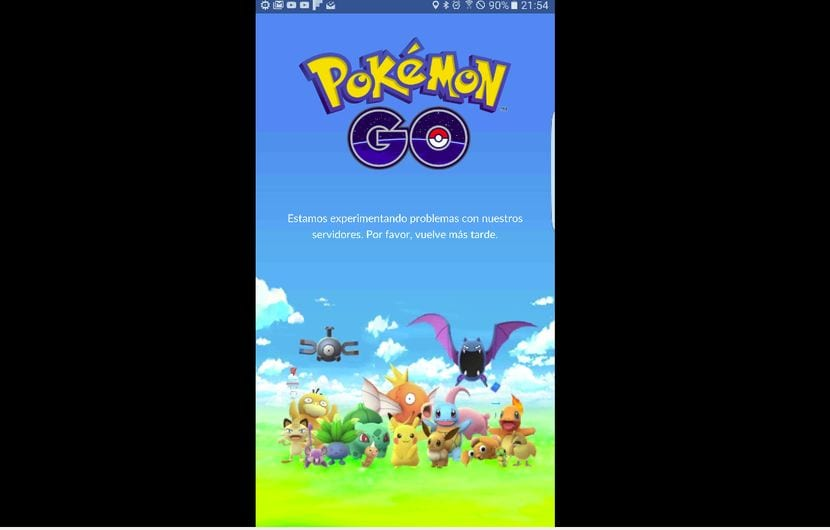 Pokemon Go no funciona