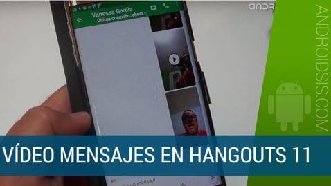 vídeo mensajes en Hangouts 11