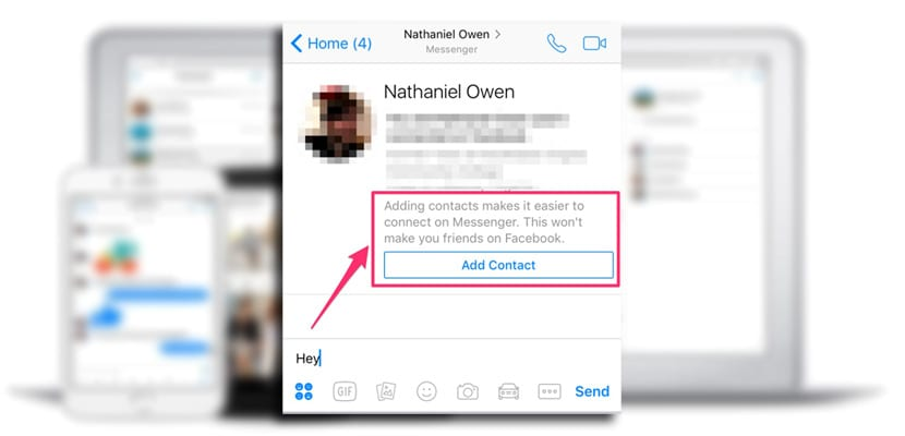Añadir contacto