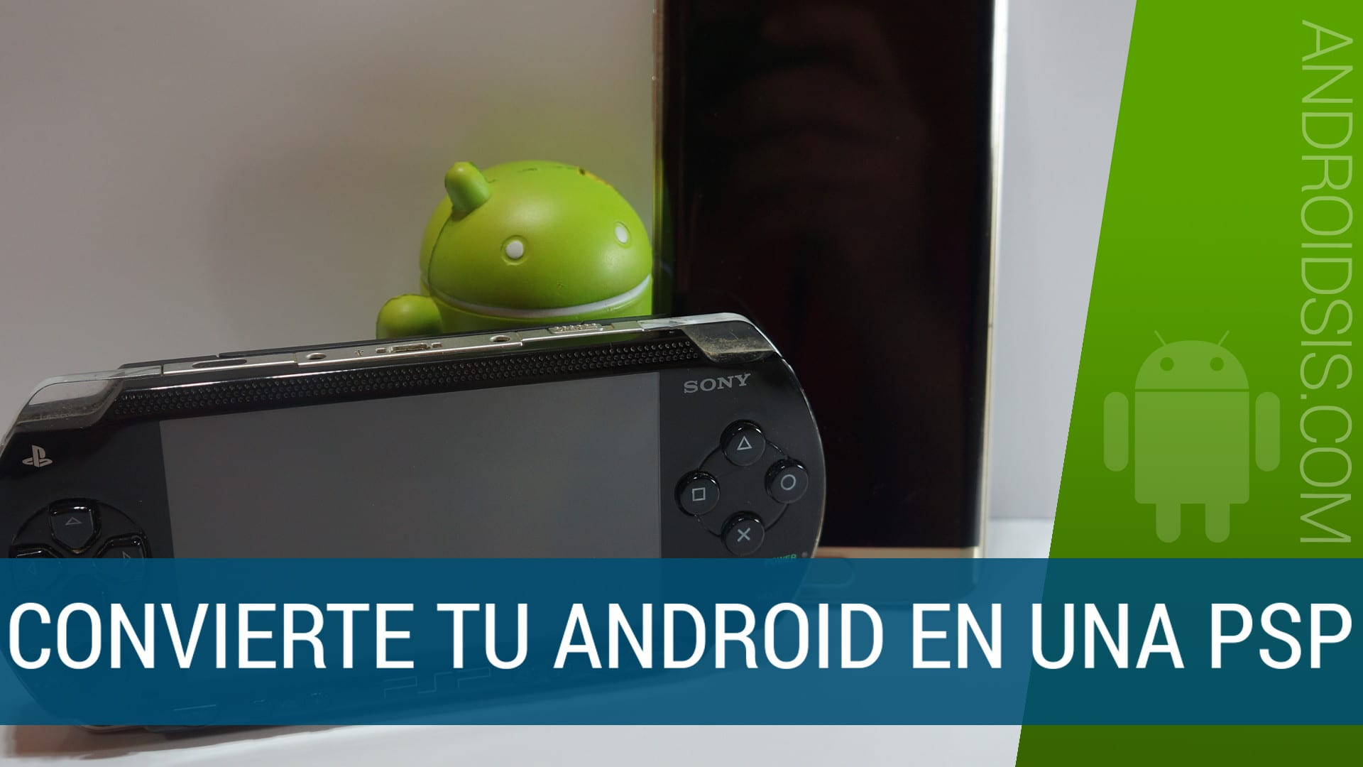 Cómo convertir Android en una PSP de Sony con el mejor emulador de PSP para Android