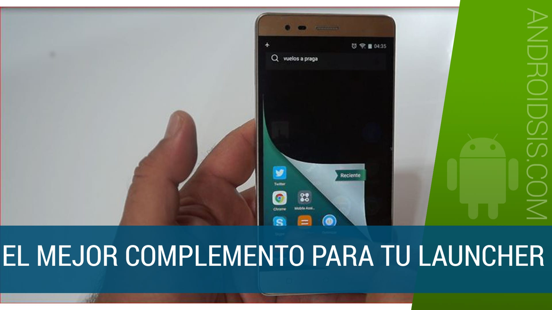 Mejor comlemento para Launcher Android