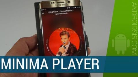 Minima Player, un nuevo reproductor de música para Android con un diseño espectacular que promete un montón
