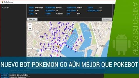 Tenemos nuevo Bot para Pokemon Go con interfaz gráfica
