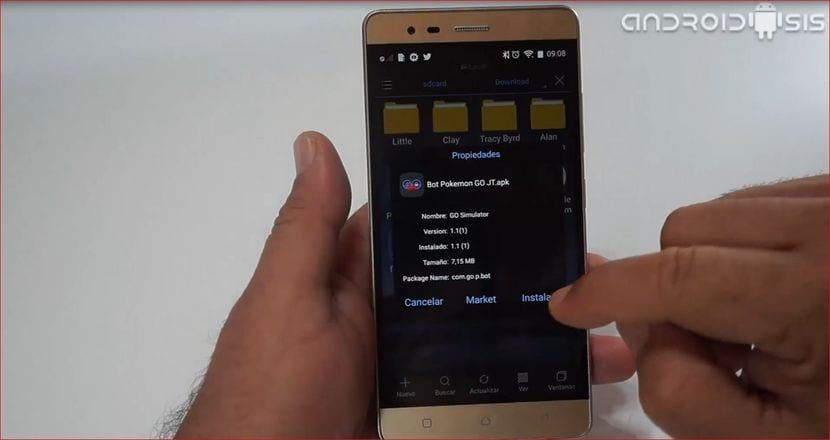 [APK] El primer bot Pokemon Go que se controla desde el móvil Android