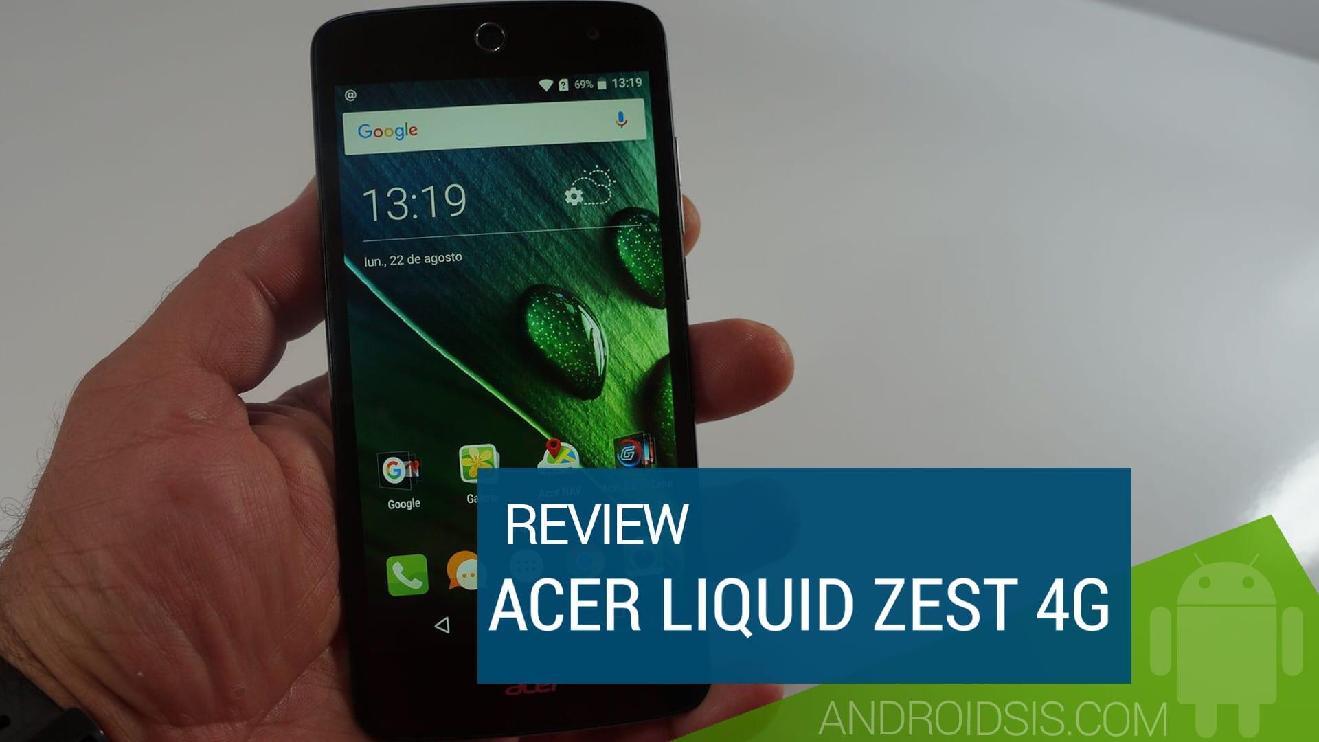 Review ACER Liquid Zest 4G