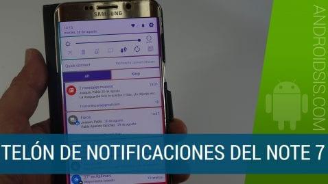 Instala la nueva interfaz de usaurio del Note 7