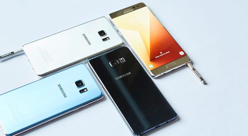Samsung interrumpe las ventas del Galaxy Note 7