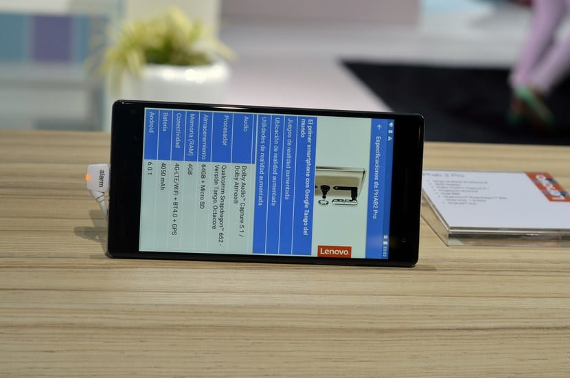 pantalla Lenovo Phab 2 Pro