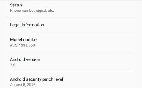 La comunidad ya está trabajando en una Rom AOSP Android Nougat para el LG G3. ¿La quieres probar?