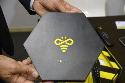 TBee tv box para Android