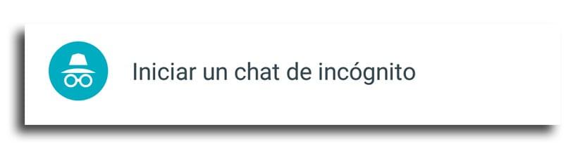 Chat incógnito