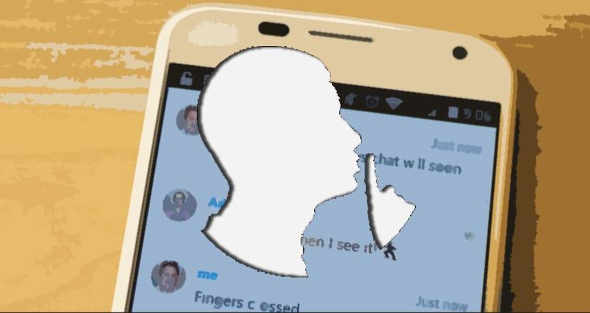 Cómo silenciar mensajes