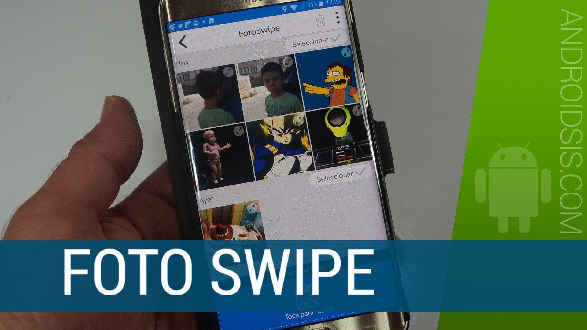 Pasar fotos entre dispositivos a lo Minority Report