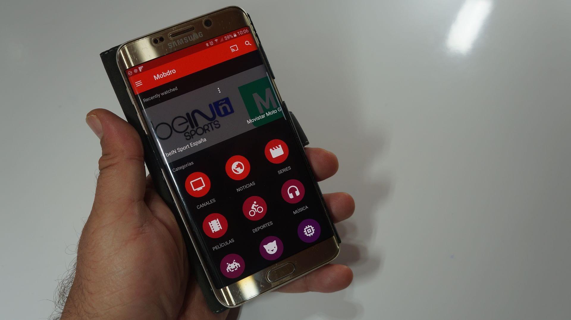 MOBDRO para Android