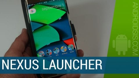 Cómo instalar el nuevo Nexus Launcher
