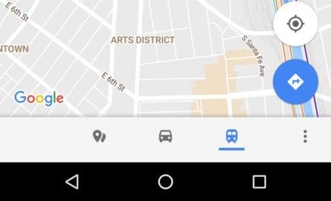 Nueva barra Maps