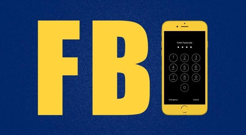 logo F.B.I. iPhone