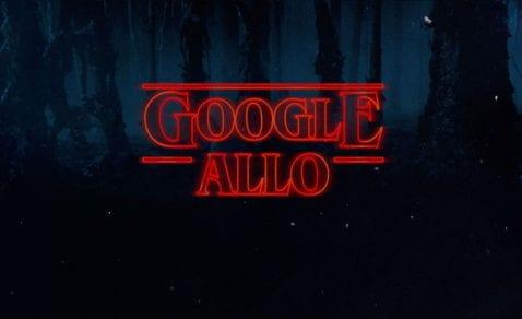 Los stickers de Stranger Things, ya disponibles en Google Allo