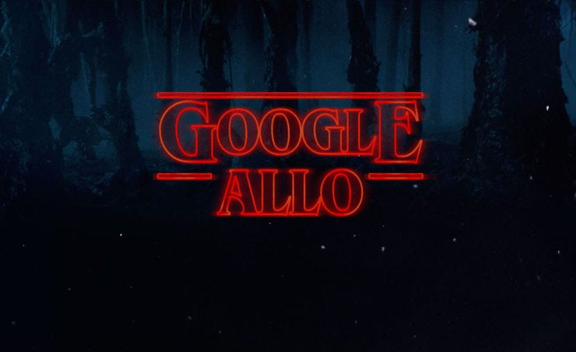 Los stickers de Stranger Things, ya disponibles en Google Allo