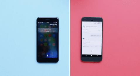 Siri y Google Assistant, cara a cara