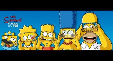Los Simpsons aparecen por primera vez en realidad virtual