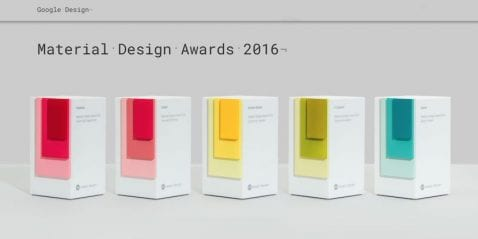 Y los ganadores de los Material Design Awards 2016 de Google son...