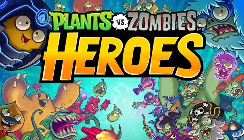 Heroes es la nueva versión de Plants vs Zombies