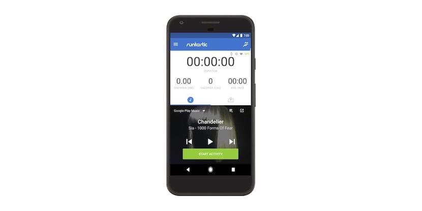 Runtastisc se integra con Google Play Music para animar tus entrenamientos