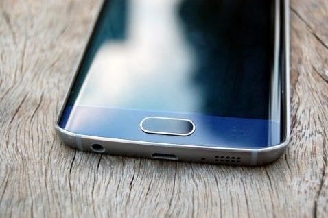 botón Samsung