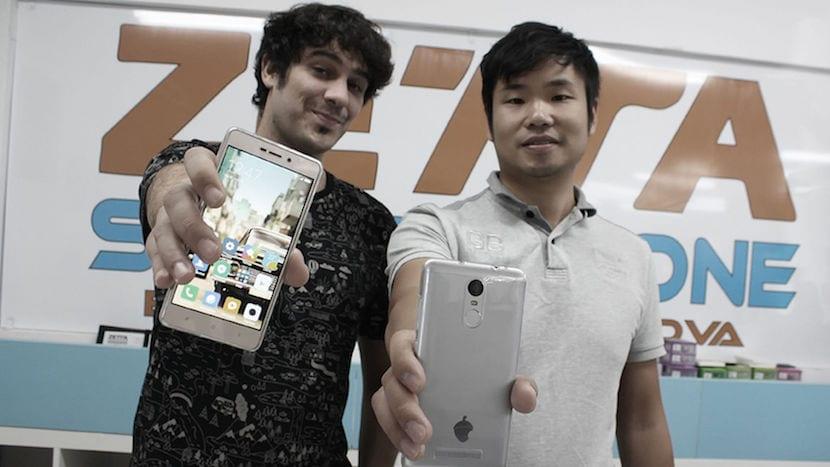 Unai y Eric, los creadores de Zetta moviles