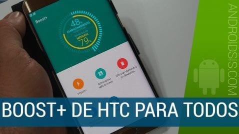 [APK] Descargar e instalar Boost+, el optimizador Android de HTC ahora disponible para todos