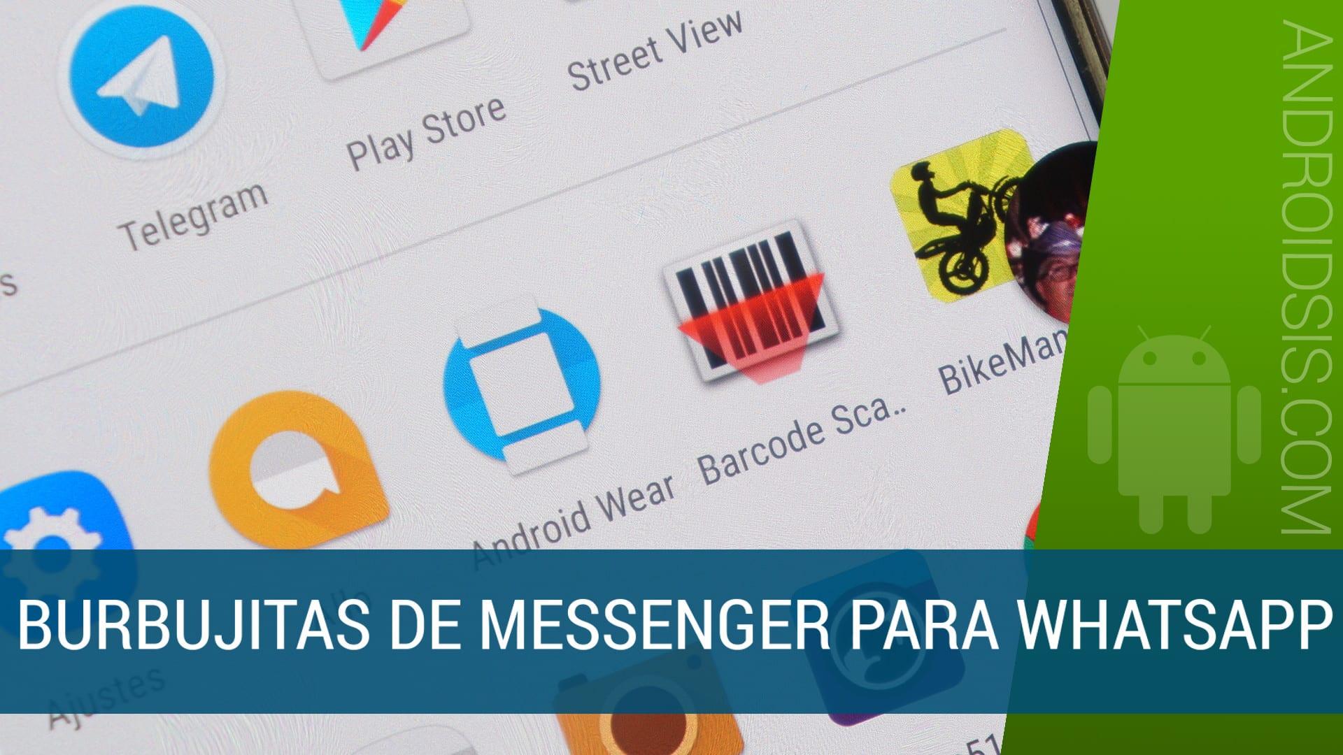 Flychat, las burbujitas de Messenger para WhatsApp, Telegram, Hangouts, Skype, etc, etc.....