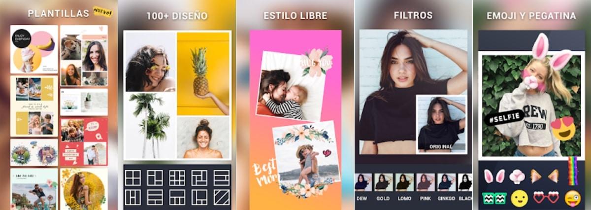App Android Collage de Fotos & Editor de Fotos