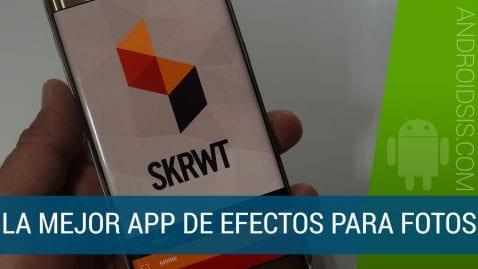 La mejor app para añadir efectos a tus fotos se llama SKRWT y ahora está de oferta en el Play Store