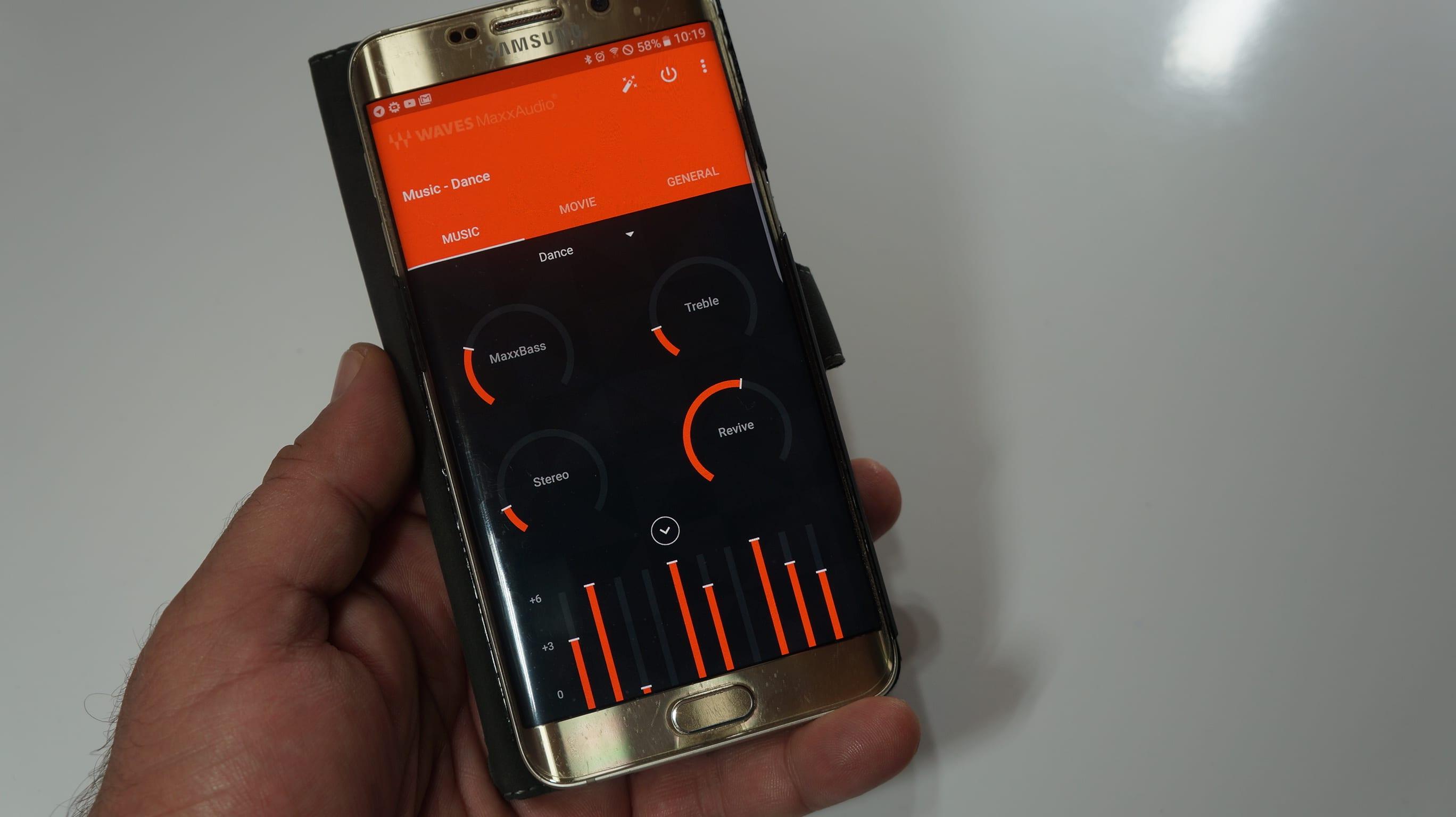 MaxxAudio de Alcatel